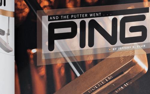 PING, oder 60 Jahre Putting