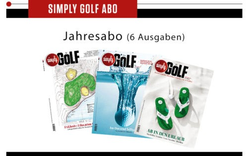 Simply Golf Jahresabo gewinnen!