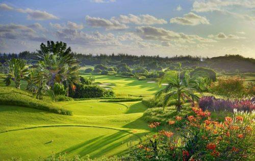 Mauritius im Golffieber