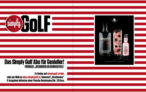 Simply Golf Abo für Genießer!