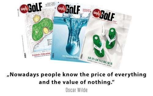 Simply Golf Kombi-Abo inkl. 5 Greenfees & einer Golfversicherung XL