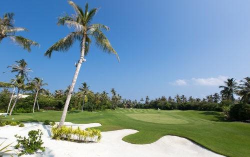Velaa Private Island: Golfen im Paradies