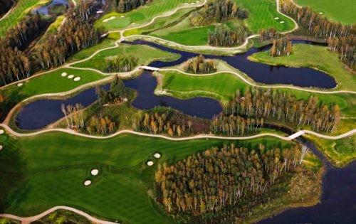 Vilnius Grand Resort: Größtes Spa Litauens, Golfplatz vor der Haustür