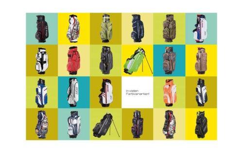 JuCads Golfbags: die bunte Vielfalt