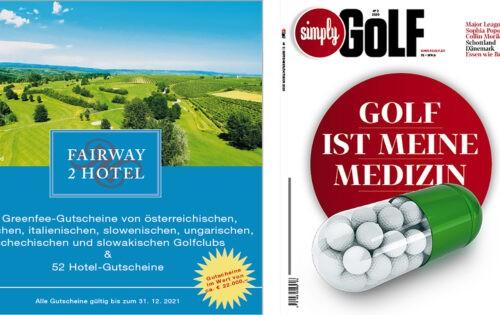 Abo-Angebot: Fairway2Hotel, SimplyGolf & XXL-Golfversicherung