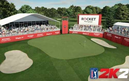 Neu bei PGA Tour 2K21: Clubhouse Pass & Detroit Golf Club!