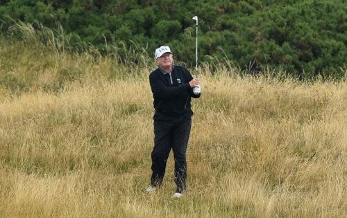 Ex-President Evil – der Golfer Donald Trump