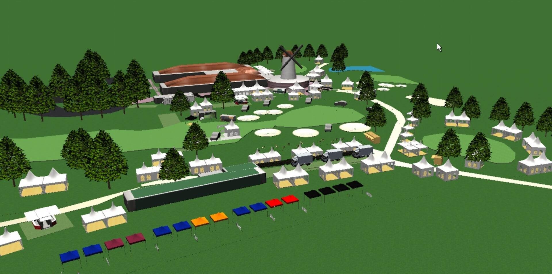 """Premiere für Open-Air Golfmesse """"Rheingolf on the Green"""""""