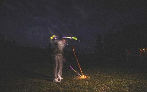 Attersee Golflub Weyregg: Golfen im Mondschein