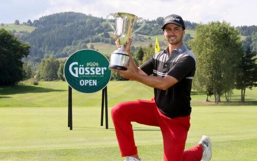 Gösser Open: Paul Elissalde (FRA) triumphiert mit Birdie am letzten Loch
