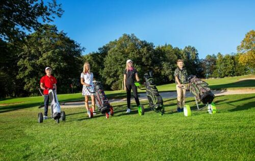 JuCad für Golf-Youngsters