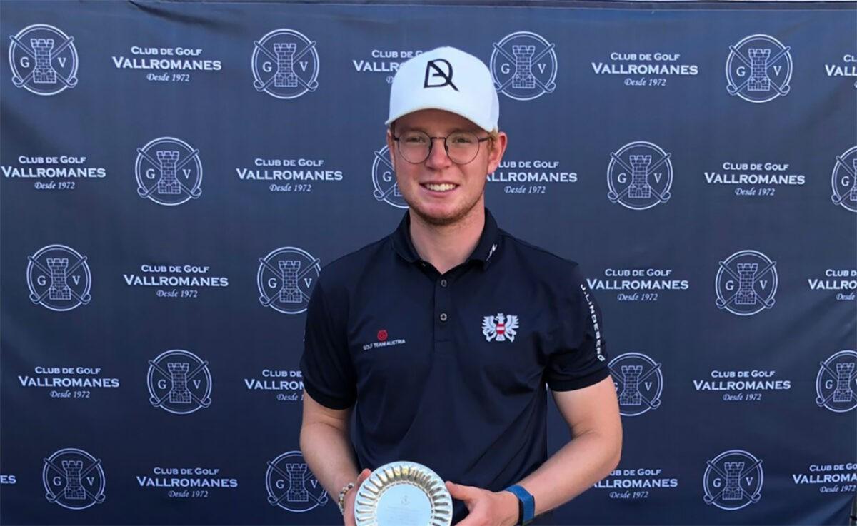 Fabian Lang Dritter bei U18-Meisterschaften von Spanien